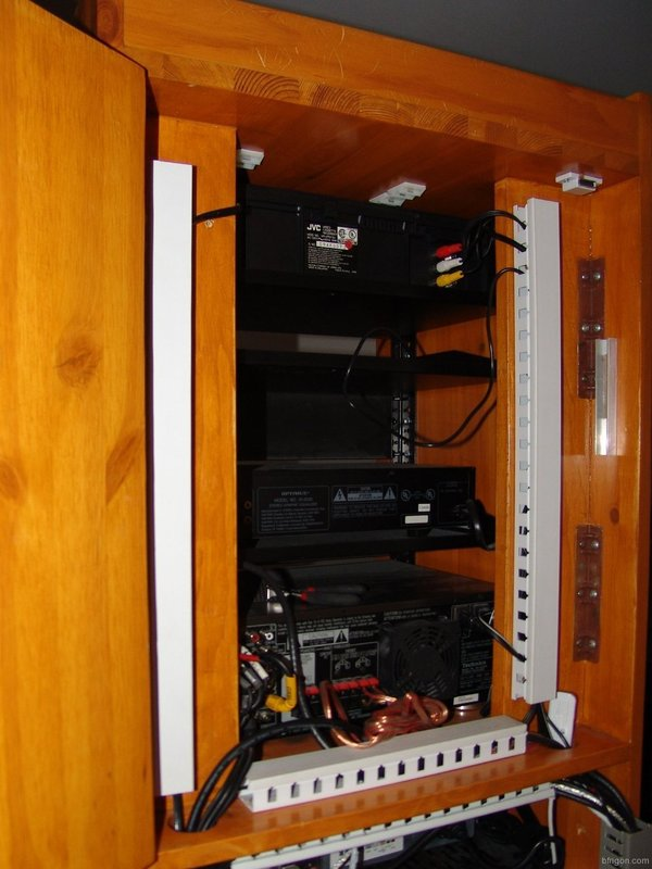 Home Theater Cabinet Cooling Custom 19 Inch Rack Cabinet