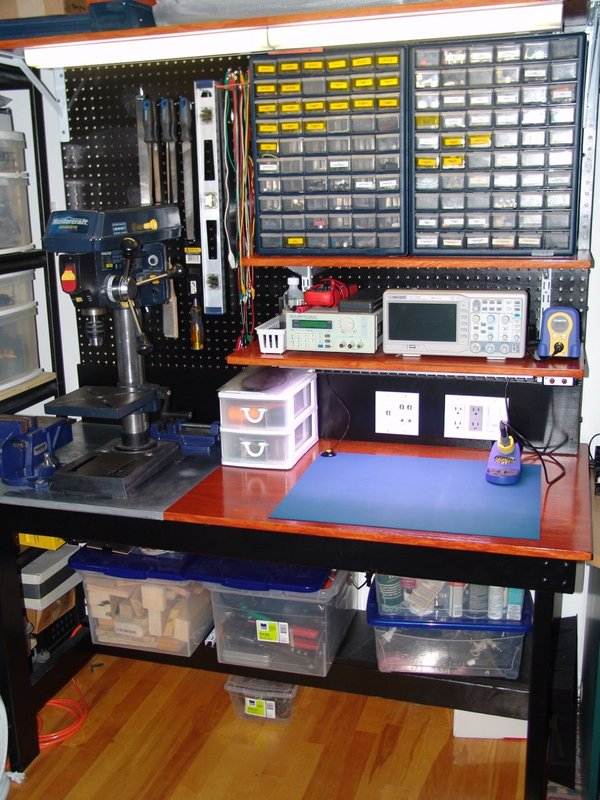 Diy Electronics Workbench