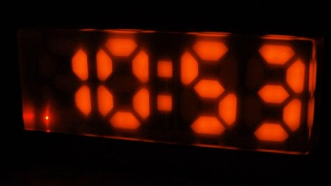 Linux alarm clock - Display